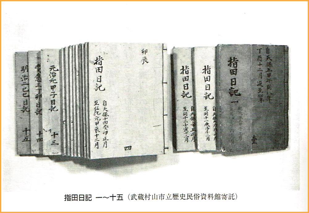武蔵村山市/「指田日記」の養蚕と疱瘡 | カイコローグ